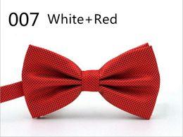 Wholesale Wholesale Wool Fiber Yarn - Factory price wholsale OEM 32Clors Men Classic Wedding Bowtie Necktie Novelty Tuxedo Fashion Adjustable boyfriend fater gift