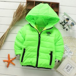 Wholesale Girl Clothes Coats - Retail 2017 New winter girls jacket, snow treasure cartoon coat cotton-padded clothes cotton-padded clothes, children's coat Kid