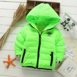 Wholesale Girls Clothing Coats - Retail 2017 New winter girls jacket, snow treasure cartoon coat cotton-padded clothes cotton-padded clothes, children's coat Kid