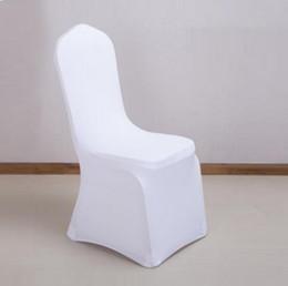 2019 sagome di bordo oro burgundy MJ0805 Coperture per sedie da matrimonio in poliestere bianco universale di alta qualità per matrimoni, banchetto, coperture pieghevoli per hotel