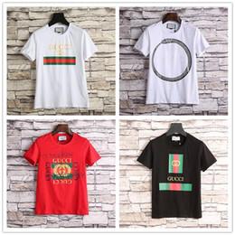 Wholesale Top Tees Brand - 2018 brand New Striped Men Casual Short Sleeved T-shirts Robin Fashion Tees Tops Tshirts Medusa Tee Shirts