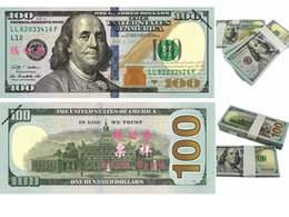 Wholesale Usa Studies - USA Dollars New $100 Learning Banknotes Bank Staff Training Movie Props Money Wedding Holiday Home Decoration Arts Collectible Gifts