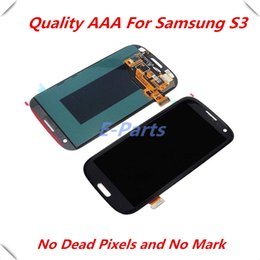 Wholesale Galaxy S3 Replacement Screen Assembly - For Samsung Galaxy S3 lcd GT-i9300 with Screen Display Touch Digitizer Assembly Replacement parts with DHl fast shipping