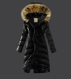 Wholesale Padding Feathers - 2016 Winter New Fashion Long Coat Slim Thickened Turtleneck Warm Jacket Cotton Padded Zipper Parka Outwear Casacos 3 Colors High Quality