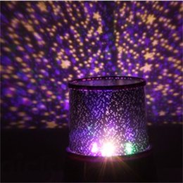 Wholesale Pattern Master - Wholesale- Hot Gift!!! Amazing Colorful LED Projector Lamp Star Master Pattern For Creative Gift LED Night Light High Quality