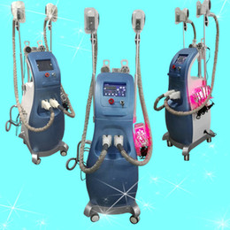 Wholesale Laser Machines For Sale - Vertical 4 In 1 Ultrasonic Cavitation Radio Frequency Lipo Laser Slimming Machine Fat Freeze slimming machine for Spa Hot Sale