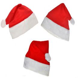 2019 i capelli piegano i veli Cappellino natalizio Cappellino natalizio Cappelli natalizi Cappellino rosso Cappelli rossi Carino Bambini Cappellini per adulti 2016 nuove decorazioni natalizie indossano un panno