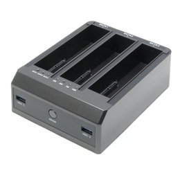 "Wholesale Bay Hub - Wholesale- USB 3.0 to 3 Bay SATA Hard Drive HDD Dock Docking Station For 2.5"" 3.5"" SATA HDD SSD OTC OTB with 2-Port USB3.0 HUB"
