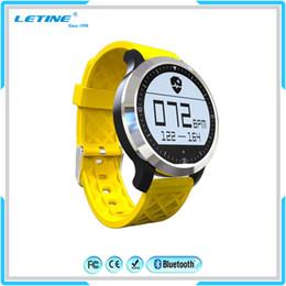 Wholesale Waterproof Silicon Watch - IP68 waterproof Smart watch Dual mode heart rate watch phone Pedometer Swimming tracker smart wristband healthy sport silicon smart bracelet