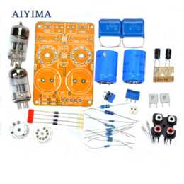 Wholesale Preamplifier Kits - Aiyima Updated Tube Amp Preamp 6N3 Vacuum Tube PreAmplifier SRPP Board Diy Kits Fit for 5670
