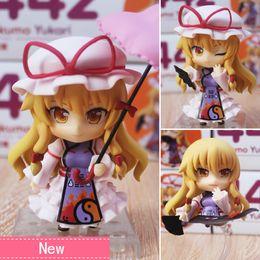 Wholesale Touhou Project Anime Figure - Anime Touhou Project Yakumo Yukari PVC Action Figure Collectible Model toy 10cm 442#