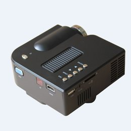 Wholesale usb pocket projector - Wholesale- UNIC UC28 + HOT SALE! Home Cinema 1080i Mini Pocket Portable Led Video Game Projector with USB SD function CE,ROHS