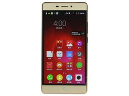 Wholesale Cell Phone Original Zte - Unlocked Original ZTE Weiwu 3 4G LTE Mobile Phone Snapdragon 615 Octa Core 2GB RAM 16GB ROM 5.5inch 13.0MP Fingerprint OTG Smart Cell Phone