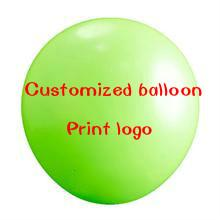 Wholesale Pink Green Balloons - 1000pcs 10inch customized round advertise balloons printing with logo for party decoration Festival party supplies by express
