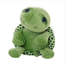 Wholesale Turtle Cute Doll - Children Baby Big Eyes Turtle Plush Toy Turtle Doll Turtle Stitch Plush Toys cute lovely washable design