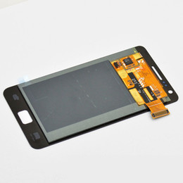 Samsung galaxy s2 teléfono celular online-Venta al por mayor 100% nuevo teléfono celular táctil panel LCD AAA + grado s2 lcd para Samsung Galaxy S2 I9100 LCD