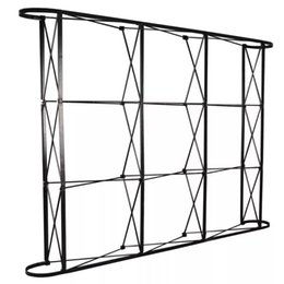 Wholesale Wedding Stands For Flowers - Aluminum flower Wall stand frame for Tradeshow Straight Tension Banner Exhibition Display Stand Trade Show Wall
