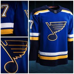 Wholesale New Personalized - St. Louis Blues Jerseys 2017-2018 Season New team jerseys Custom Personalized Hockey Jerseys 100% Stich Embroidery Freeshipping