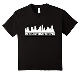 Wholesale Cotton Manufacture - Houston Strong T-shirt 2017 Hot Sell Sound Activated Tshirt for Men Flashing Up Customized Manufactured Is Available