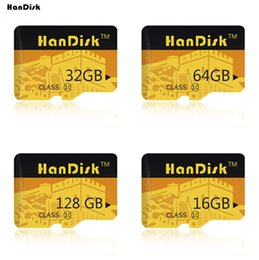 Wholesale Uhs Memory Cards - Handisk 100% Real Capacity Flash Memory Card 128GB 64GB 32GB 16GB Micro SD Card Class10 UHS-1 Flash Card Memory Microsd for Smartphone
