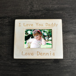 Wholesale Personalized Wood Frames - Father Picture Frame, Custom Picture Frame , Wood Frame,Father's Day Gift ,Personalized Picture Frame,Gifts for Grandpa
