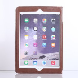 Wholesale China Accessories For Cars - Leather can tie the car business styleCard package stand case for ipad mini1234 Air1 2 pro9.7 New ipad 2017 9.7