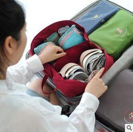 Wholesale Green Day Underwear - Tourist underwear bag, waterproof travel bag, bra bag, portable wash bag