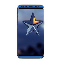 Wholesale Cheap Androids Phones - 5.5Inch Goophone S8 smartphone MTK6580 Quad Core 1GBRAM 4GBROM Curve Screen Good Quality 8MP Back Camera Show 64GB cheap Phone