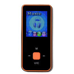 Wholesale Multi Games Card - Wholesale- High-quality 8G MP3 Music Player 1.8 Inch Screen FM radio E-book support 64G TF Micro SD card slot with multi-languages