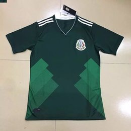 Wholesale mens mexico national team home jersey green camisetas de mexico Confederations Cup