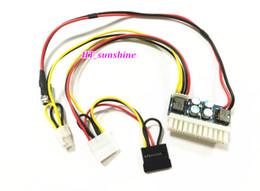 Wholesale Mini 4p - Freeshipping 10PCS LOT DC 12V 250W 24Pin Pico ATX Switch PSU Car Auto Mini ITX High Power Supply Module 24Pin 4Pin CPU 4P IDE