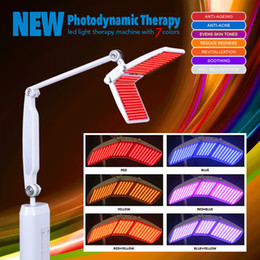 Wholesale Professional Treatments - Beauty Salon Use PDT LED Skin Rejuvenation Machine Light Therapy Photon Machine With 7 Colors Professional With CE