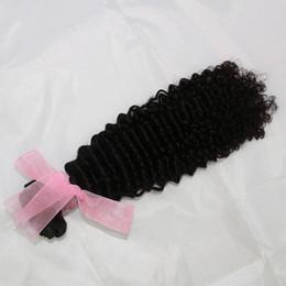 Canada Kinky Curl cheveux mongol armure cambodgienne vietnamienne birmane faisceaux de cheveux humains 1 pcs / lot naturel noir trame de cheveux humains cheap mongolian weave black Offre