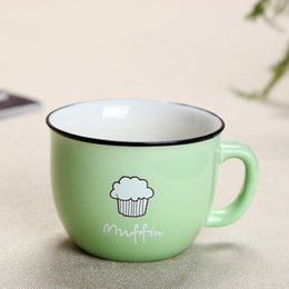 Wholesale Top Quality Bone China - Wholesale- Top sale Retro creative ceramics belly Korean cup for gift ceramic cup the high quality simple cup of coffee milk for breakfast
