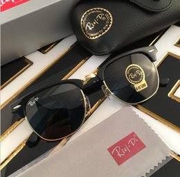 Wholesale Metal Hinge Sunglasses - New Arrive dBrand Designer Sunglasses High Quality Metal Hinge Sunglasses Men Glasses Women Sun glasses UV400 51mm Unisex With accessory fre