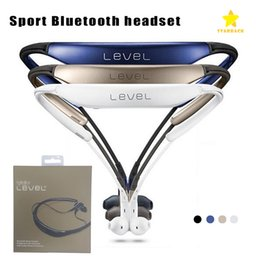 Wholesale u sports - Level U BG920 Bluetooth Headset Casque Bluetooth Heaphones Sport Stereo for iPhone Samsung with Retail Package