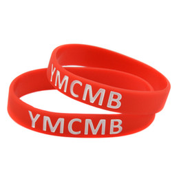 Wholesale Young Living - Wholesale 100PCS Lot YOLO You Only Live Once YMCMB Combo Silicone Wristband Bracelet Combo Young Money