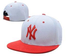 Wholesale Adults Headwear - 2017 Colorful Baseball Snapback Cap NY Hats Women Men Yankees Hip Hop Sport New York Adjustable Bone Unisex Casquette Casual Headwear WM273