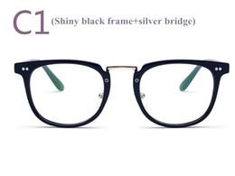 Wholesale Classic Metal Works - Fashion Vintage Optical Glasses Frame Favorite Prescription PC Material Eyeglasses for Women and Men Classic Eyewear Frames