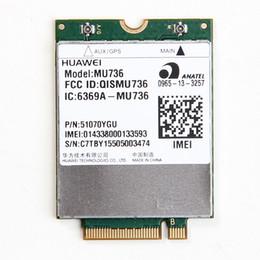 Wholesale Usb Gprs - Wholesale- UNLOCKED HUAWEI MU736 Wireless 3G WWAN NGFF M.2 Card WCDMA HSP HSPA+ EDGE GPRS GSM Module For Ultrabook Laptop Tablet