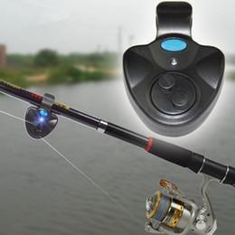 led light fishing rods Australia - Universal Fishing Alarm Set Wireless Electronic Fish Bite Alarms Finder LED Light Sound Alert Fishing Rods ( Without Battery )