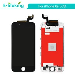 Wholesale Fast Display - 5PCS LCD Display Touch Digitizer Screen For iPhone 6S Full Assembly Replacement Grade AAA+Quality With Free DHL Fast Shipping