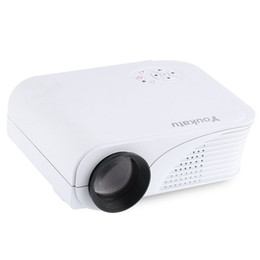 Argentina Al por mayor-Youkatu S320 Proyector LCD 1800 lúmenes 800 x 600 píxeles Proyector HD Reproductor multimedia Control remoto por infrarrojos para empresas y el hogar cheap ir business Suministro