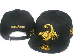 Wholesale D9 Reserve - D9 DNINE RESERVE scorpion leather swag brand snapback caps hiphop cap baseball hat hats for men snapbacks bone aba reta gorras toca bones