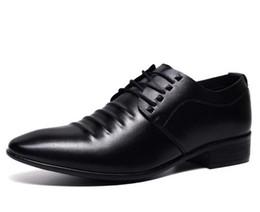 Wholesale Wedding Shoes Punks - British Fashion Men Punk Pointed Shoes Pu Leather Men's Oxfords Dress Shoes