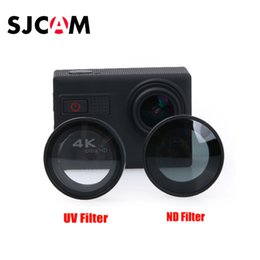 Wholesale Lens Neutral - Wholesale- SJCAM SJF68 F68 Accessories UV ND Lens Filter Neutral Density Filters Lente Protector For SJ CAM F68 Camera