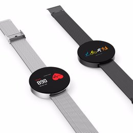 Wholesale Tft Watch - For Original iPhone X 8 Samsung Mobile Phone Smart Watch 007Pro Watch Bluetooth TFT Touch Screen Fitness Tracker Heart Rate Monitor Bracelet