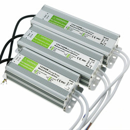 Wholesale Ip67 12v Power Supply Waterproof - High Quality 12V 5A Waterproof IP67 Electronic LED Driver Power Supply Transformer 90V-250V to 12V 60W 80w 100w 150w 200w