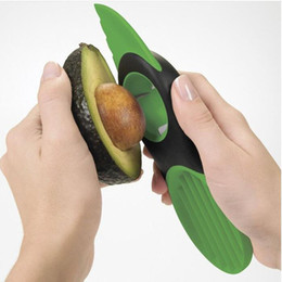 Wholesale Fruit Pitter - Good Grips 3-IN-1 Avocado Slicer With Knife Pitter Peeler And Scoop Kitchen Utensil Tool 20*6*3cm Fruit Tool