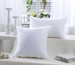 Wholesale Cotton Filling Pillow - 1pc Free Shipping Square Pillow Inner Home Decor Cushion Filling Pillow Insert Sofa Pillow Cushion Core
